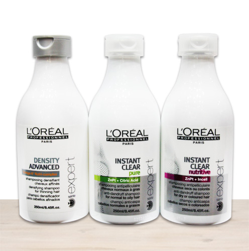 L'oreal Pensity Advanced Shampooing / Instant Clear Pure Shampooing / Instant Clear Nutritive Shampooing